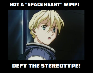 Not a Space Heart Wimp - DTS English vers. by CynFinnegan