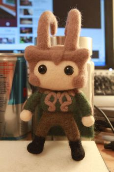 God of Mischief - Mini!Loki by cat-cat