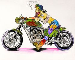 Tank Girl (Colored) by SooDLee