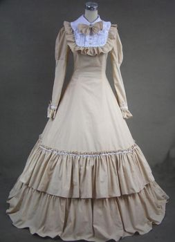 Beautiful Long Victorian Fashion Dress for Sal by jdoris009