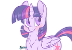 Cutie Purple by FluffyXai