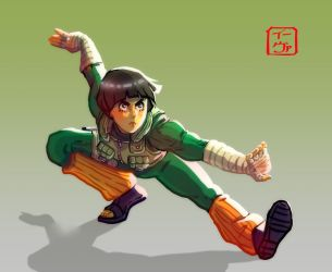 Rock Lee by invisibleninja12