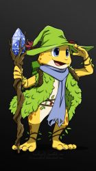 Commission Art : Samm - the frog magician by doraemonbasil