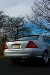 Mercedes C55 AMG 2 by Earthfeeler