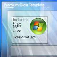Premium Glass PSD by Frnak