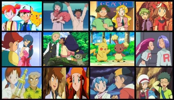 My Top Favorites Pokemon Shipping's by hlaa14