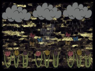 Cloudy Day for Flowers by kandi
