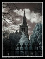Infrared - Bedford Church by Raymate
