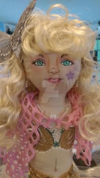 Mermaid doll face up by RollerBoyjeremy