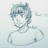 Paul [Eddsworld] by AmitiArt