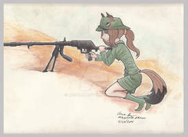 Battle in the Desert by MiGpilot25
