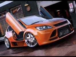Ford Focus ST by wallla