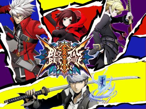 BlazBlue Cross Tag Battle Persona 5 Style 2 by EpicLinkSam