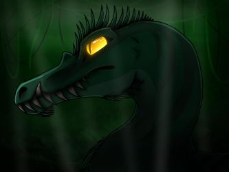 Spiked Spino by SchnappiSKY