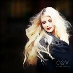 Blonde Girl-1 by Edgeley