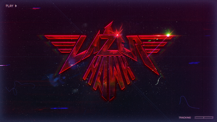 LazerHawk Logo Wallpaper by StArL0rd84