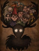 Over the garden wall by EmiliAlys