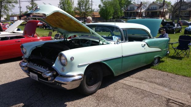 Barnfind '55 Olds 88 by EThinnes