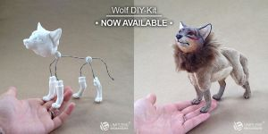 Wolf DIY-Kit by LimitlessEndeavours
