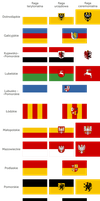 Flags of Voivedships of Poland 'B' by FollowByWhiteRabbit