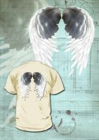 T-Shirt Ailes by EugeneStanciu