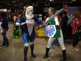 CCEE 2015 Shiek and Link by QTZephyr