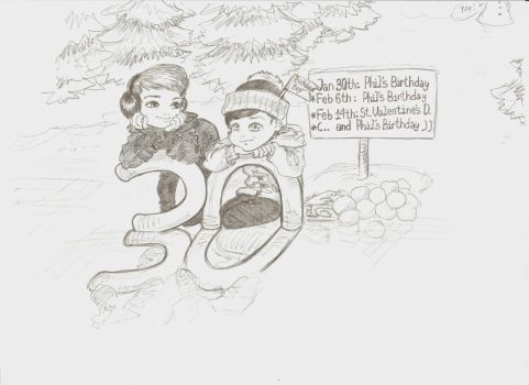 Phil's Never-ending Birthday is never-ending by Sumeragi-no-Chloe