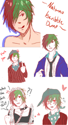 Iscribble Natsuno Dump by AcerbusKeeper