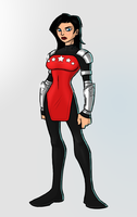 Donna Troy/Wonder Girl redesign by payno0