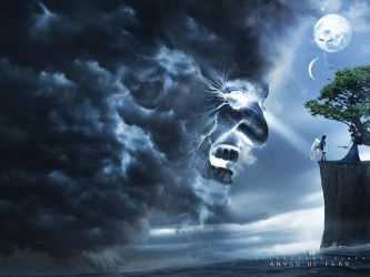 Abyss of Fear -Photoshop Tutorial  Dark Fantasy by 35-Elissandro