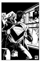 Supes and Chemo scribble pinup by RougeDK