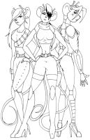 Biker Babes From Mars by FabFelipe
