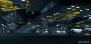 SCORPION V8 HANGER AND LAUNCH BAYS by LUCAS-REDESIGN
