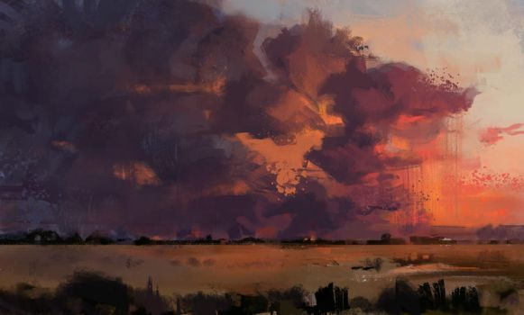 Clouds - Sunset by jofremariano
