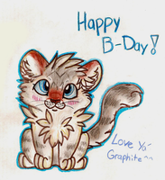 Happy Birthday Graphite by MBPanther