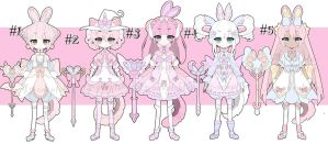 magical girls adoptable batch CLOSED by AS-Adoptables