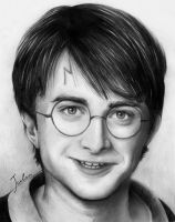 Daniel Radcliffe by JuliaFox90