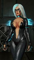 Blackcat 2099 from Spider-Man: Edge of Time by Wesker1984