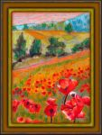 Fields of Poppies by fmr0