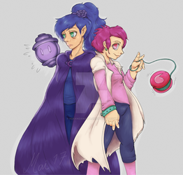 Mirella and Terna by MirandaMaija