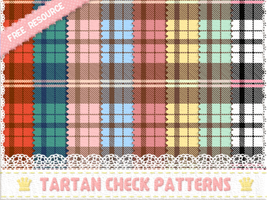 tartan patterns by inano2009
