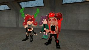 New tattoos for Octolings by alex12357