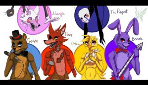 Five Nights at Freddy's by Latisky