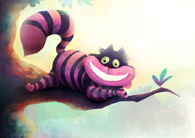 Cheshire Cat by banana-fox