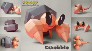 Dwebble Papercraft