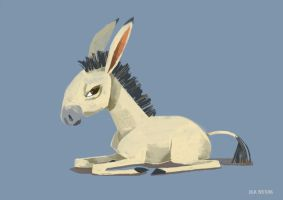 Dissatisfied Donkey by Gnulia