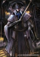 Bloodborne: The Last Scolar by mecharune