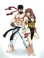 Ryu x Chun-li Alt. by Gamesgb