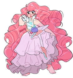 Pearl x Rose by Chibicmps