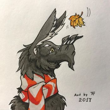 Inktober 28/31 - Fall by Tora-Tikel